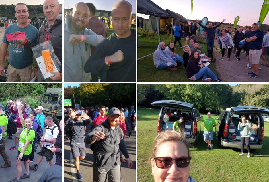 Glocal Media Sponsored Client Fellowes in Oxfam Trailwalker 2019